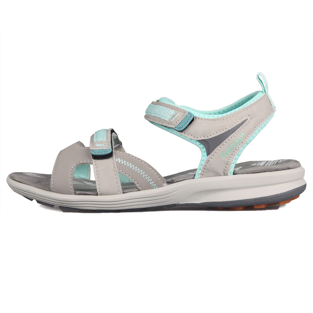 Image 2 - GRITION 2019 Women Sandals Outdoor Summer Beach Flat Shoes Ankle Buckle Strap Casual Open Toe Sandalias Mujer Fashion Walking-in Women's Sandals from Shoes