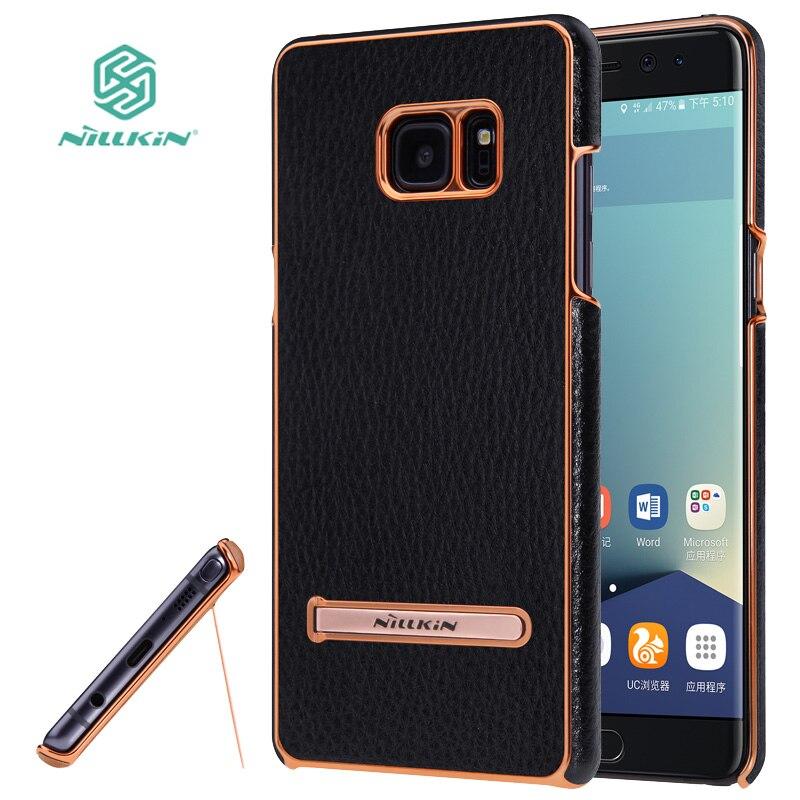 <font><b>for</b></font> <font><b>Samsung</b></font> Galaxy Note FE <font><b>Fan</b></font> Edition Case Nillkin M-Jarl Luxury Leather <font><b>Phone</b></font> Cover Case <font><b>for</b></font> <font><b>Samsung</b></font> Note 7 Kickstand Funda