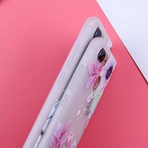Image 4 - Fall Für Xiao mi Red mi 6A Abdeckungen Matt Blume Telefon Fällen Für Xiao mi mi 8 Lite mi 9 SE Rot mi Hinweis 7 6 5 Pro Rot mi 7 6Pro 4X 5A