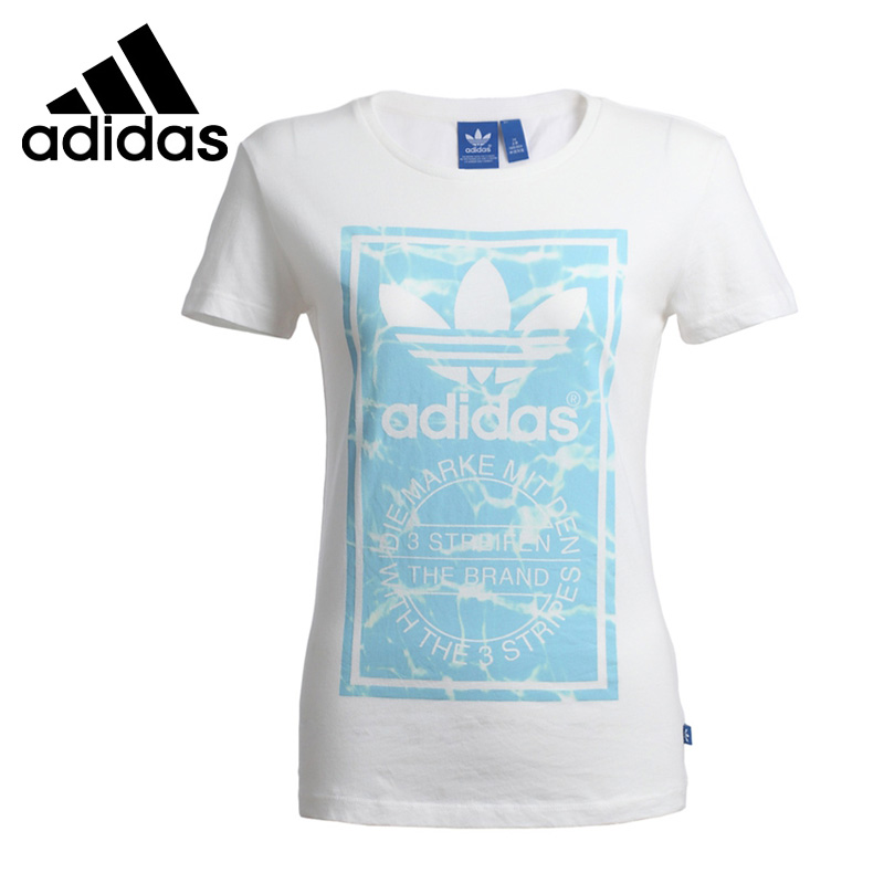 ФОТО Original Adidas Originals Women's Short Sleeve T-shirts Sportswear