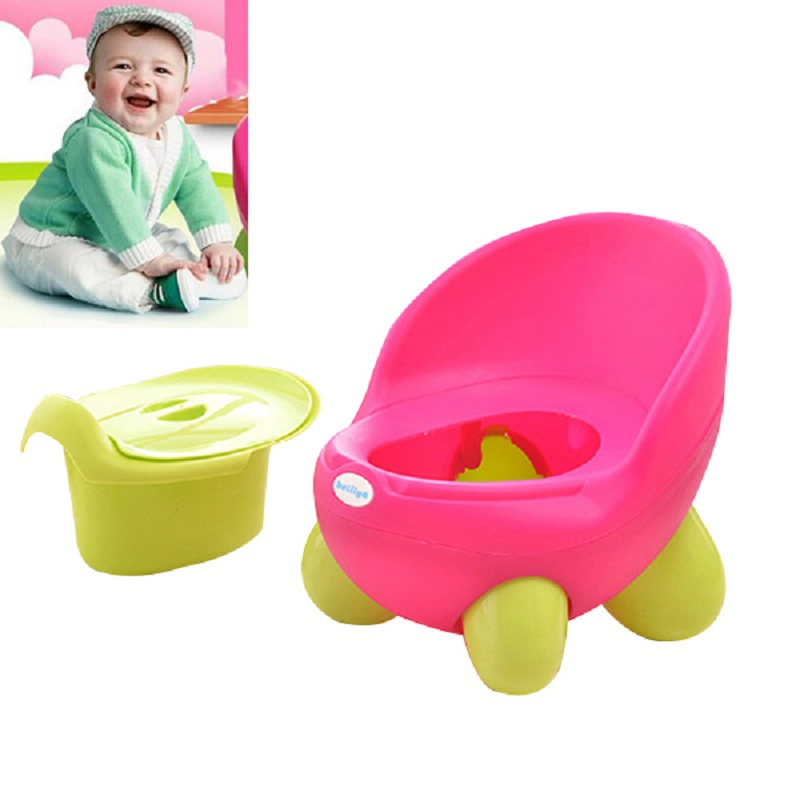 Baby Potty Toilet Chair Potty Training Urinal Child Toilet Seat Plastic Non-Slip Travel Potty Chair Urinal for Children