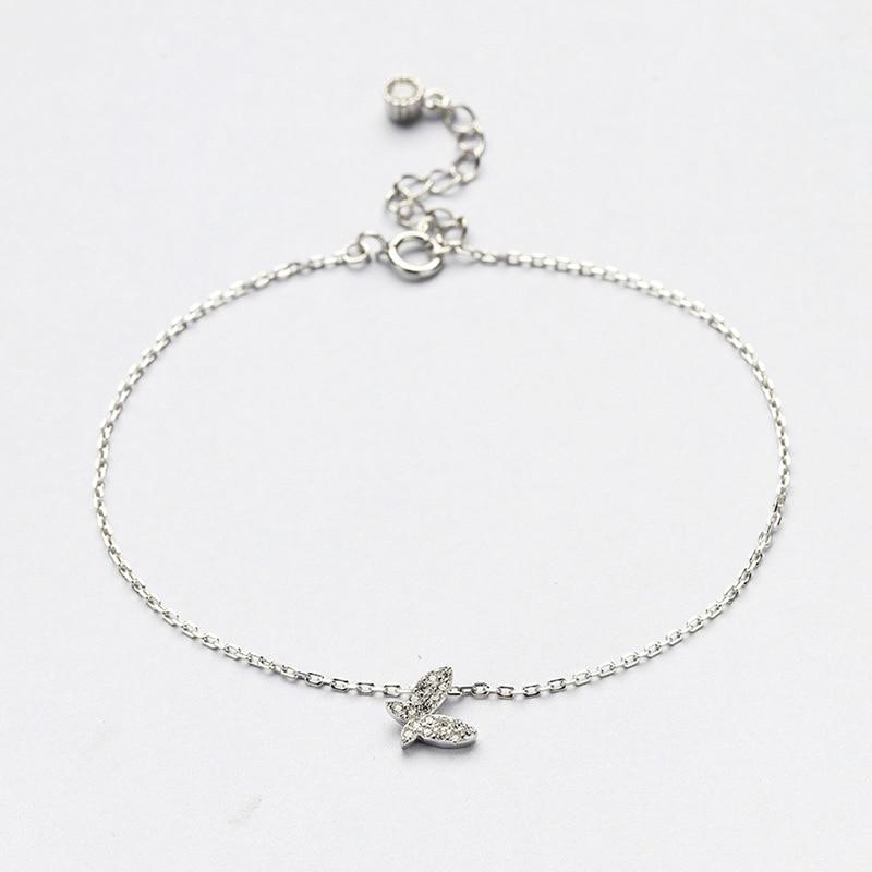 B3 for kim customer send with bag 925 silver women bracelet animal shape fly on the sky for gift