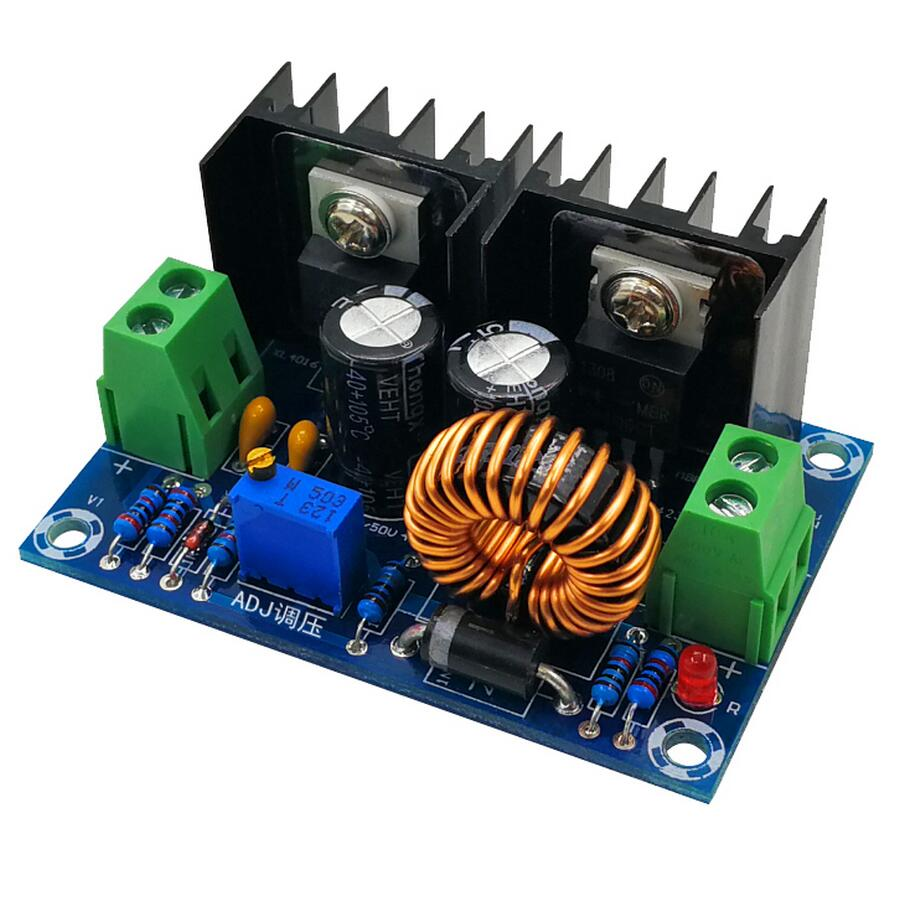 XH-M400 Step down power supply module DC4-40v to DC1.25-36v 8A 200w adjustable XL4016E1 DC-DC DC voltage regulator buck module 1pcs professional step down power dc dc cc cv buck converter step down power supply module 8 40v to 1 25 36v power module