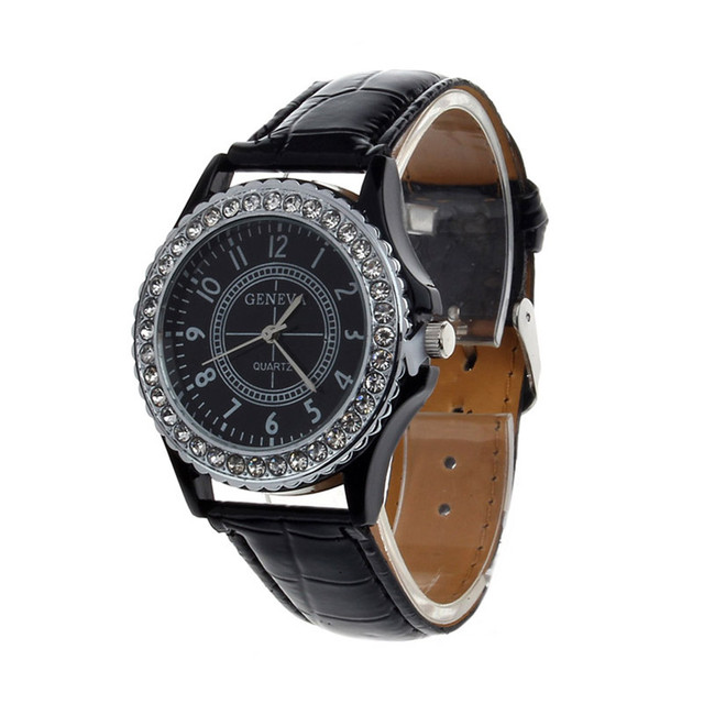 2018 Luxury Rhinestone Bracelet Watch Women Fashion Rose Gold Quartz Watch Ladie