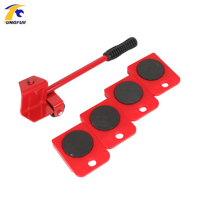 Tungfull Hardware Tools Moving Device Heavy Load Handling Tool Household Furniture Aquarium Base Pulley