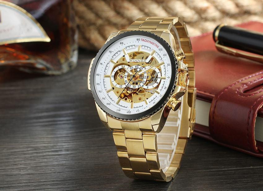 HTB15ei9B5CYBuNkSnaVq6AMsVXaS New Hot Winner 0352 Mens Watches Military Sport Clock Male Top Brand Luxury Skeleton Clocks Automatic Mechanical Steel Men Watch