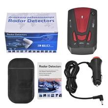 10 Unids/lote V7 Coche Detector de Radar 16 Banda de Voz de Alerta Anti Radar Sistema de Prueba de Velocidad Del Coche Detector de Pantalla LED de 360 Grados de dhl