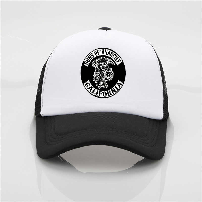 d450002a ... Fashion Baseball cap SAMCRO Men Cap Cool Summer Hip Hop hat SOA Sons of  Anarchy for ...