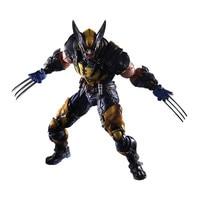 Tobyfancy Wolverine Action Figure LOGAN X Men X MEN Play Arts Kai PVC Collection Model Superhero