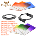 KnightX ND filter color Kit For Cokin P for canon eos 600d 1200d 600d t3i  t5i 750d 500d  t5 400d 70d camera d3200 d5200 d3300