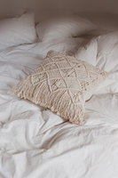 Macrame pillow cover Handmade macrame Boho cushion cover decorative pillow cover Customized size and colors