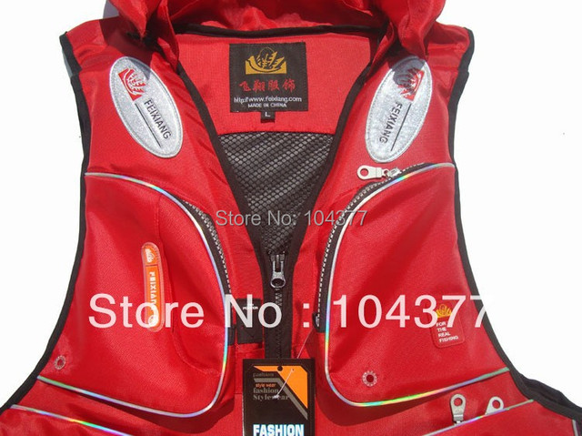 Free Shipping Professional life jackets fishing / life-saving dual-use vest Swimwear fishing vest life vest