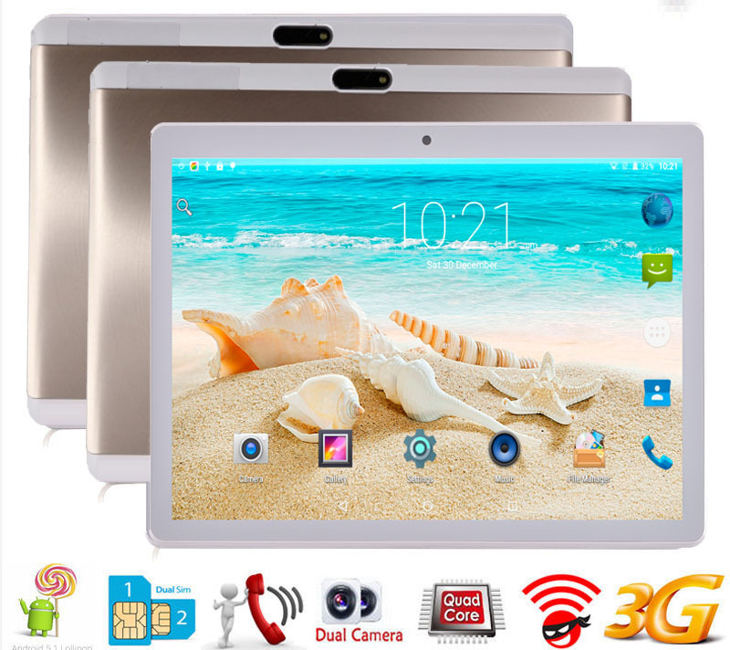 Gros OEM 10 pouces Android 7.0 Octa Core PC 4G LTE 3G tablette mobile appel téléphone portable - 4