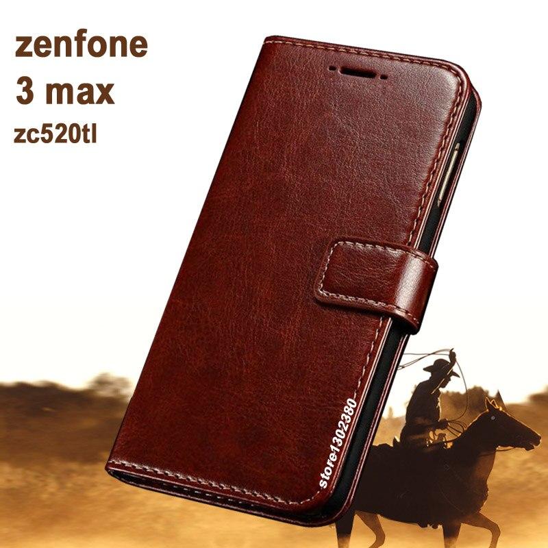 for asus zenfone 3 max zc520tl case cover leather crazy. Black Bedroom Furniture Sets. Home Design Ideas