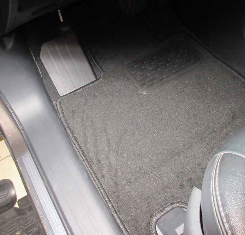 Mats in salon Klever Premium For NISSAN Pathfinder 2014->, внед... 5 PCs (textile) mats in salon klever premium for toyota highlander 2014 внед 5 pcs textile