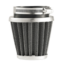 2017 New Universal 35/39/42/44/48/50/52/54/60mm Motorcycle Mushroom Head Air Filter Clamp On Air Filter Cleaner Hot Selling