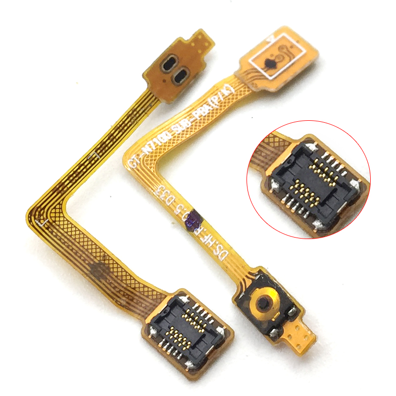 For Samsung Galaxy Note 2 Note 2 II LTE N7105 N7100 ON And OF Switch Button Flex Cable Replacement Part