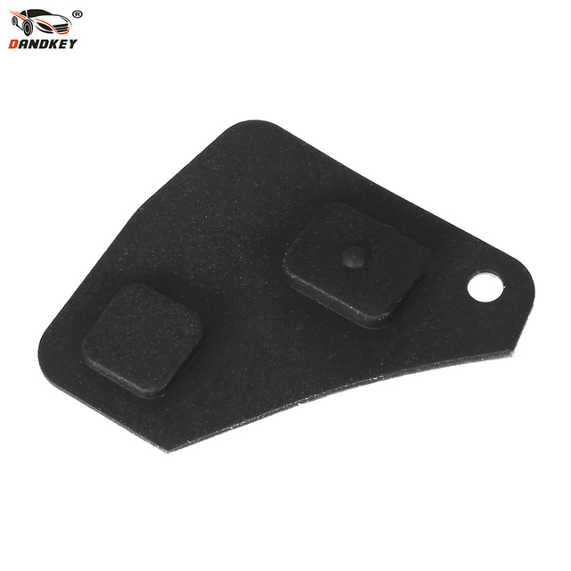 US $0 86 28% OFF|DANDKEY Replacement 2/3 Buttons Remote Key Fob Repair Kit  Switch Rubber Pad For Toyota RAV4 Corolla Camry Prado Black-in Car Key from