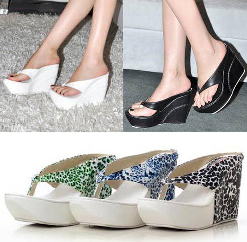 Popular White Wedge Flip Flops-Buy Cheap White Wedge Flip Flops ...