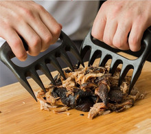 WOFO Grizzly Claws Meat Handler Fork Tongs Pull Shred Pork BBQ Barbecue Tool Bear Paws Forks Tearing Flesh (Pack of 2)