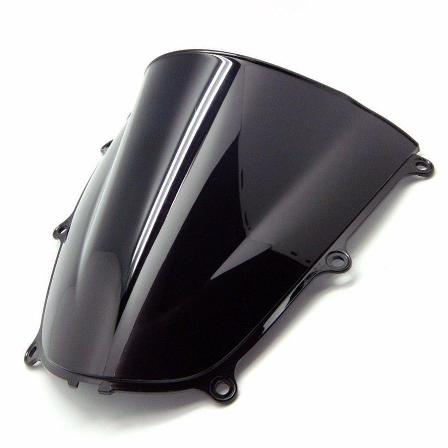 Dark smoke Windscreen Windshield for Honda CBR600RR CBR 600 RR 600RR 2005-2006 for honda cb400 2005 2016 cb600f hornet 1998 2000 cb750 2007 motorcycle windshield windscreen pare brise black