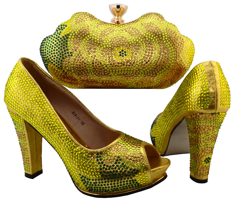 Nice looking italian matching shoes and font b bag b font set ladies shoes and font