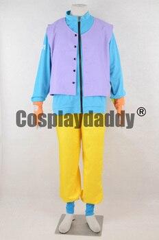 Dragon Ball Son Goku Bike Ver. Uniform Outfit Clothes Cosplay Costume F006