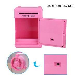 Image 3 - Elektronische Sparschwein ATM Mini Geld Box Sicherheit Passwort Kauen Münze Bargeld Ablagerung Maschine Geschenk für Kinder Kinder
