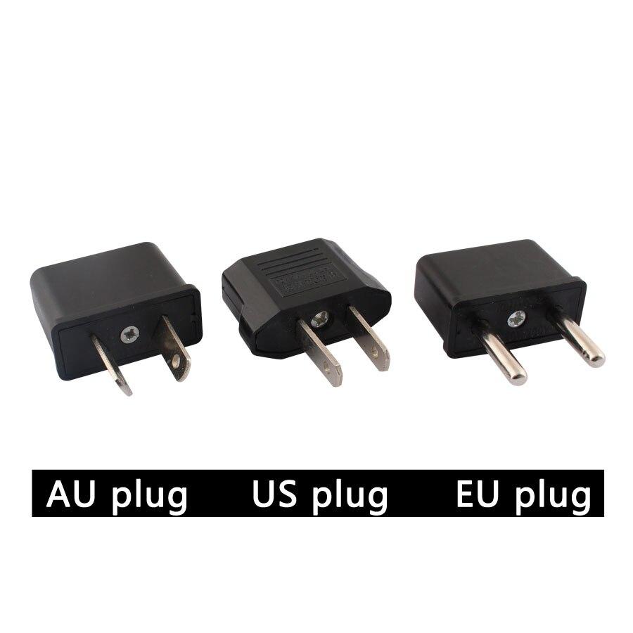 Универсальный адаптер переменного/постоянного тока от 220 В до 12 В адаптер питания штепсельная вилка стандарта США и ЕС розетки для зарядног...
