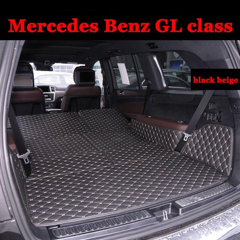 Custom Fit Car Trunk Mat For Mercedes Benz Gl Class Gl350 Gl400