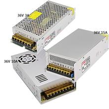 цена на DC36V Regulated Switching Power Supply 3A/10A/15A  Swich Driver Transformer AC110V 220V to DC 36v For LED Strip Light CNC