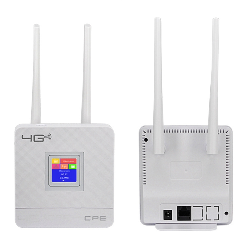 Cpe903 3G 4G Portable Hotspot Lte Wifi Router Wan/Lan Port Dual External Antennas Unlocked Wireless Cpe Router With Sim Card S title=