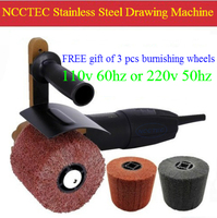 Stainless Steel Grinder Drawing Machine Electric Portable Hand Held Mirror Polisher Polishing Machine 110v 60hz Or