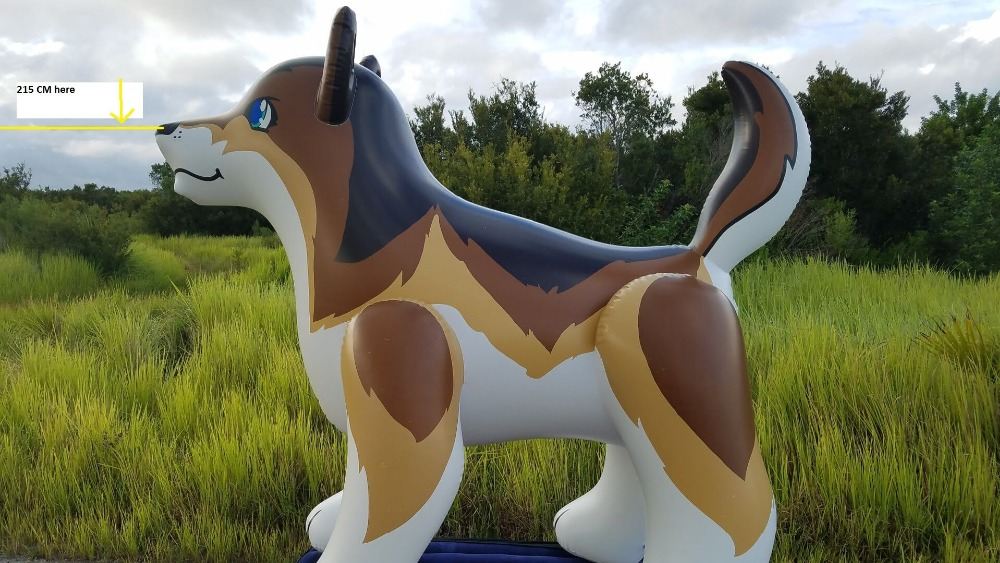 inflatable animals customized size of inflatable dog and horse 8m inflatable christmas santa claus cartoon for adversting inflatable trees and house and box customized festival toy