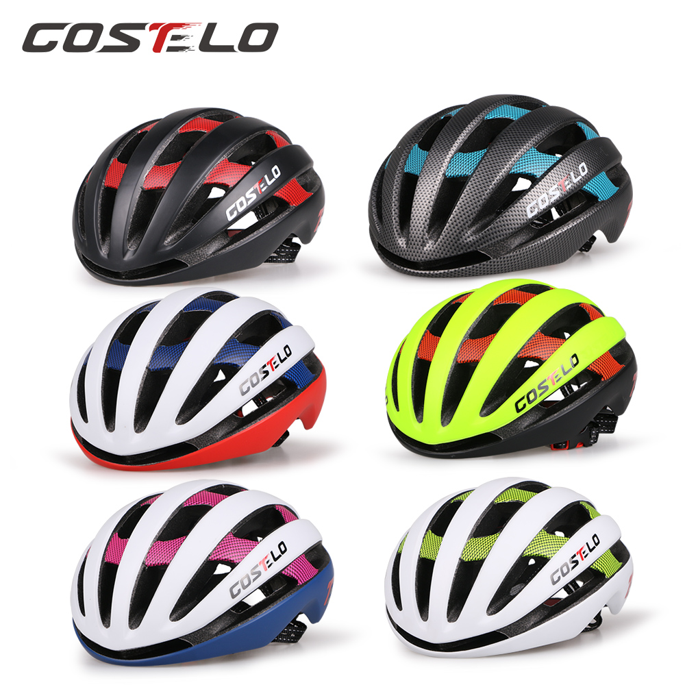 ФОТО 2017  Costelo Light Cycling Helmet Bike Ultralight helmet costelo casco  Mtb Road Bicycle Helmet 54-58cm  free shipping