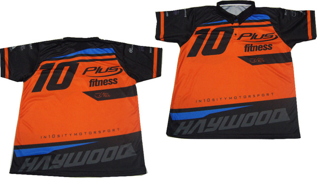 Wholesale Custom 100 Polyester Sublimated Motorcycling Team Polo