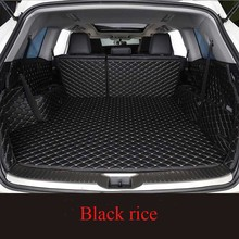 цены на For BMW 5 Series GT 2011-2017  Car Floor Trunk Carpet Rugs Mats Waterproof Automobile Accessories Custom Cargo Liner  в интернет-магазинах