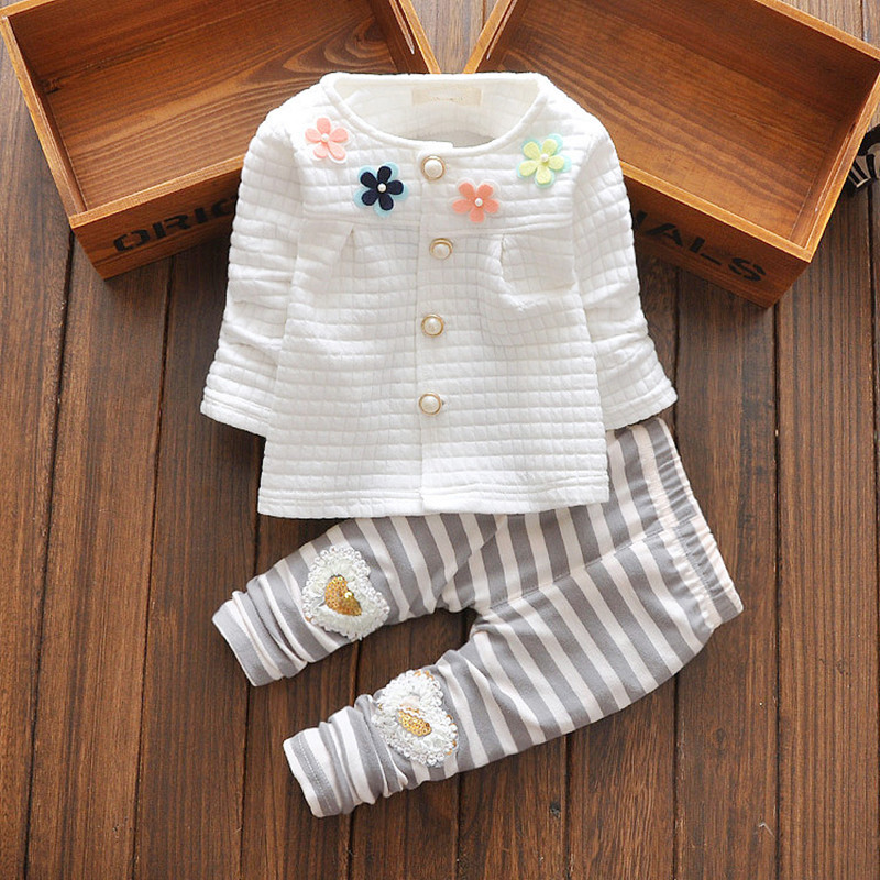 Babies Clothes For Baby Girl 2016 Fashion Infant Girl Clothes With Pants Newborn Baby Girl Clothing