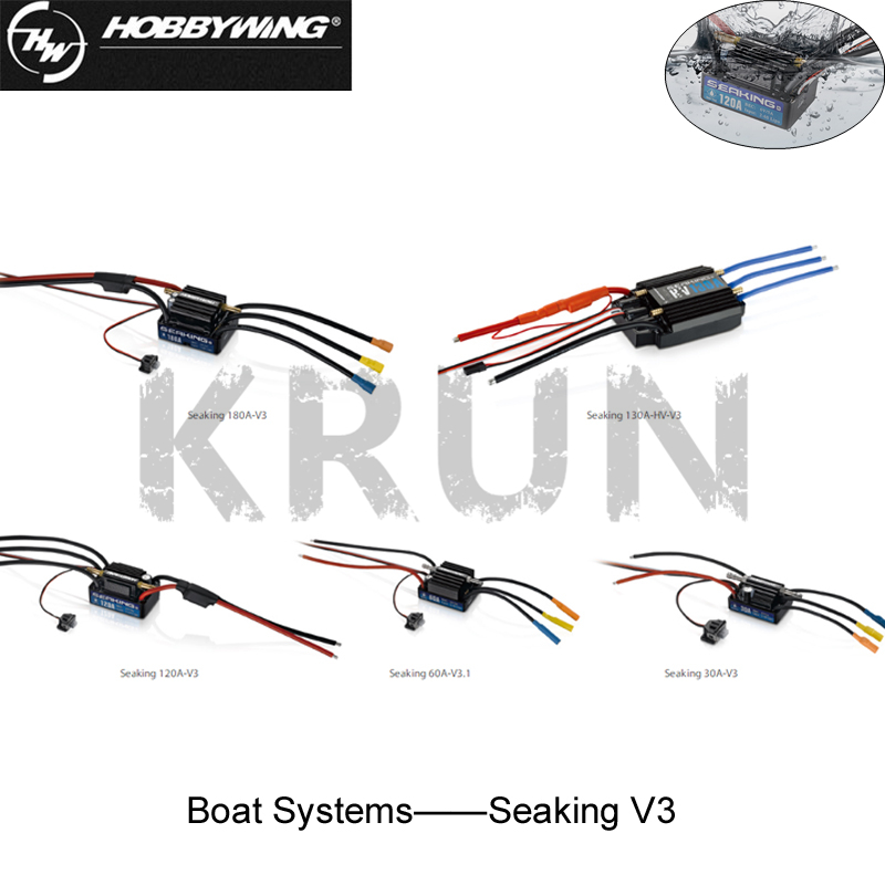 Hobbywing SeaKing 30A/60A/120A/180A V3 Brushless ESC RC