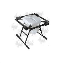DIY JMR-X1380 10L Agricultural spraying quadcopter drone 1380mm annular folding pure carbon fiber frame + landing + 10L tank