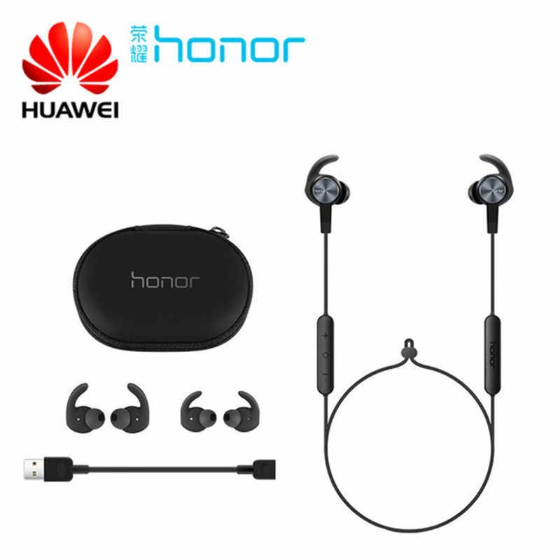 Huawei Honor xSport zestaw słuchawkowy bluetooth AM61 IPX5 wodoodporna BT4.1 muzyka Mic sterowania bezprzewodowe słuchawki dla Android IOS D5