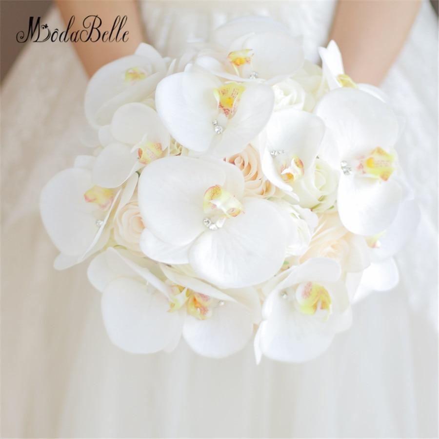 Fiori Da Sposa.Modabelle Bouquet De Mariage Cristallo Bianco Phalaenopsis Fiori
