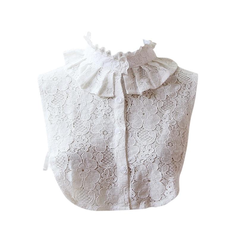Women Fake Shirt Collar Lapel Fake False Collar Detachable Collar 3 Styles