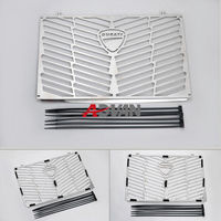 Motorcycle Stainless Steel Radiator Bezel Grill Grille Guard Cover Protector For Ducati Multistrada 1200