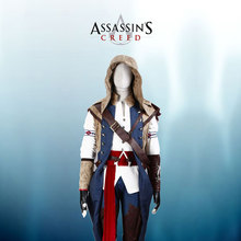 Assassin's Creed III Connor Cosplay Costume Tailor Made Any Size Full Set