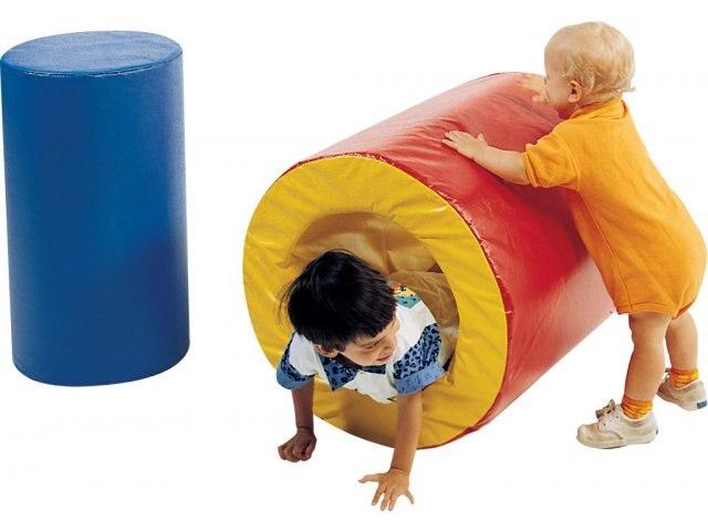 Meubles de jeu doux pour les enfants, tunnel de jeu doux d'intérieur de bébé INA171072