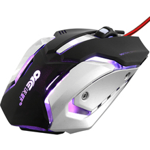 AOYEAH X700 Gaming Maus Mäuse USB Verdrahtete Optische 3200 DPI Maus Mit LED Optische Verdrahtete USB Gamer Mäuse für PC Laptop Computer Hinweis