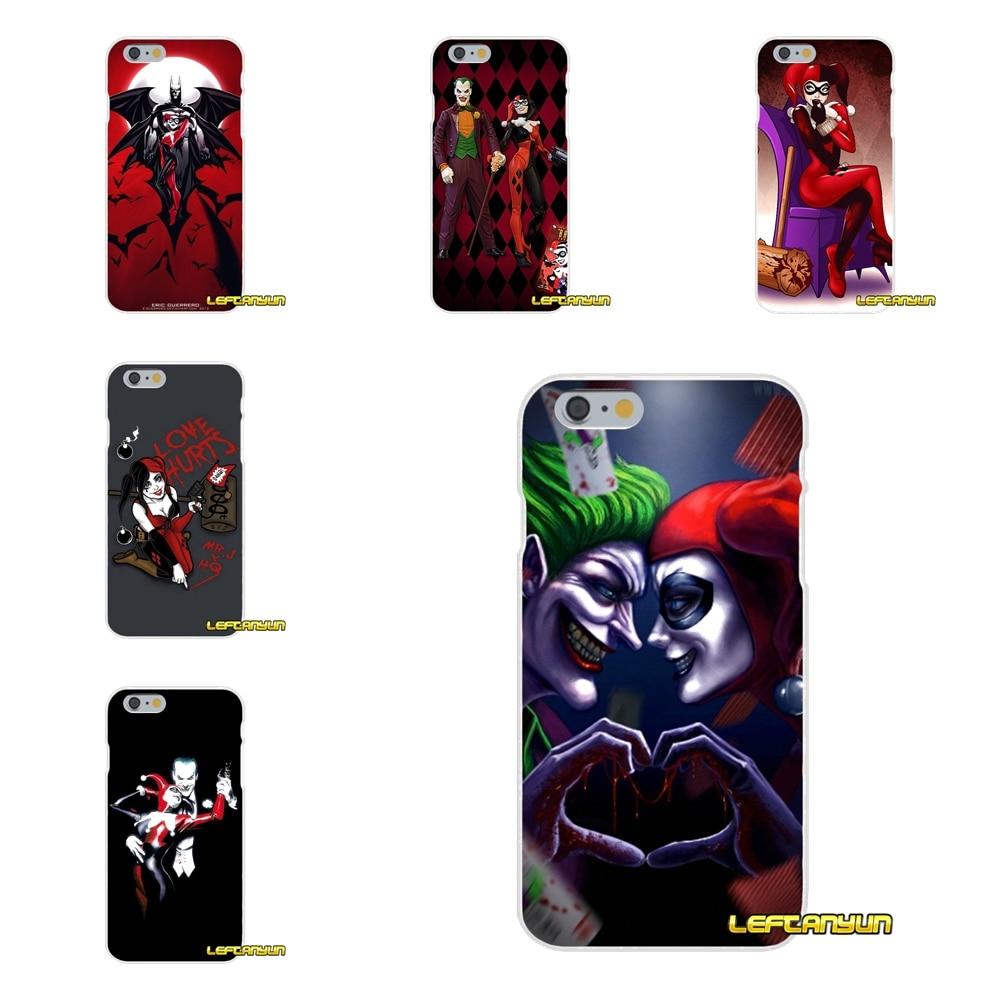 Harley Quinn and Joker Soft Silicone phone Case For Motorola Moto G LG Spirit G2 G3 Mini G4 G5 K4 K7 K10 V10 V20