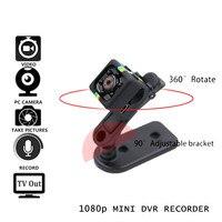 SQ11 Mini Camera Cam HD 1080P Infrared Night Vision Sport Camcorder Video Voice Recorder Espia Nanny