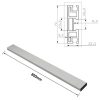 450/600/800mm 70mm height Miter Track T track T Slot Aluminium Profile Woodworking workbench DIY Accessories